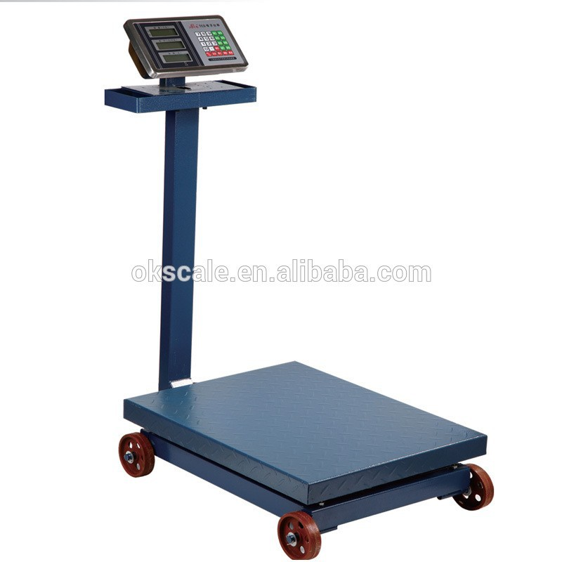 Welldone new type cheap India 100kg platform weighing scales