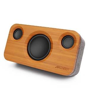 Get Quotations Archeer Stereo Bluetooth 40 Speakers Home Theater Bookshelf Bass Subwoofer Wireless A320 With 3 Drivers
