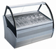 Ice cream dipping freezer/Gelato display cabinet/ice cream cart generator generator 1210w