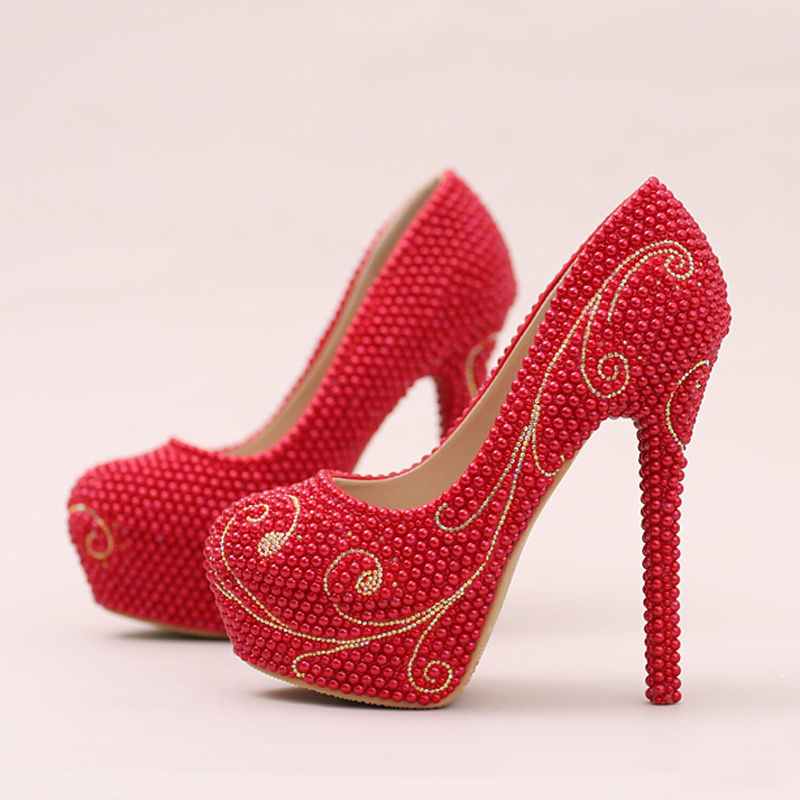 designer red wedding shoes - photo #46