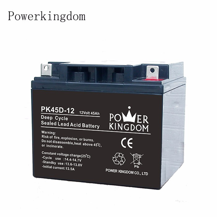Power Kingdom New 12 volt deep cycle marine battery prices factory price deep discharge device-2