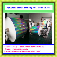 JH Series Transfer Metallized Holographic Wrapping Paper