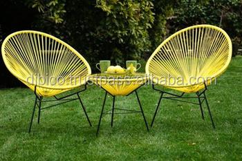 Outdoor Garden Round Rattan Moon Chair