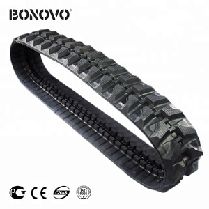 KOBELCO rubber track SK 16MSR 230*48*70 for atv rubber track crawler for sale