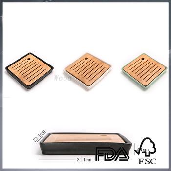 7c4fbe8d Custom Personalized Small Wood Bamboo Tea Service Tea Set - Buy ...