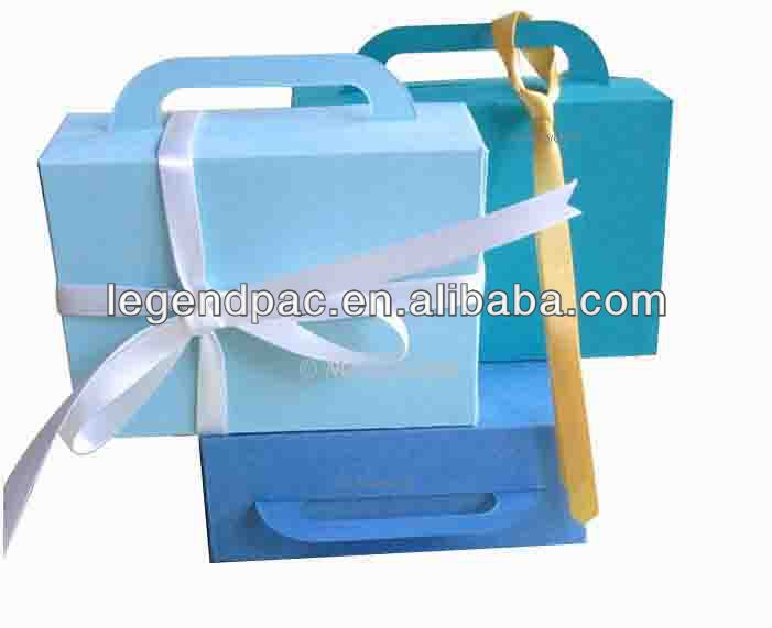 Cube Boxes With Handles/paper Gift Boxes/ Made-in-china