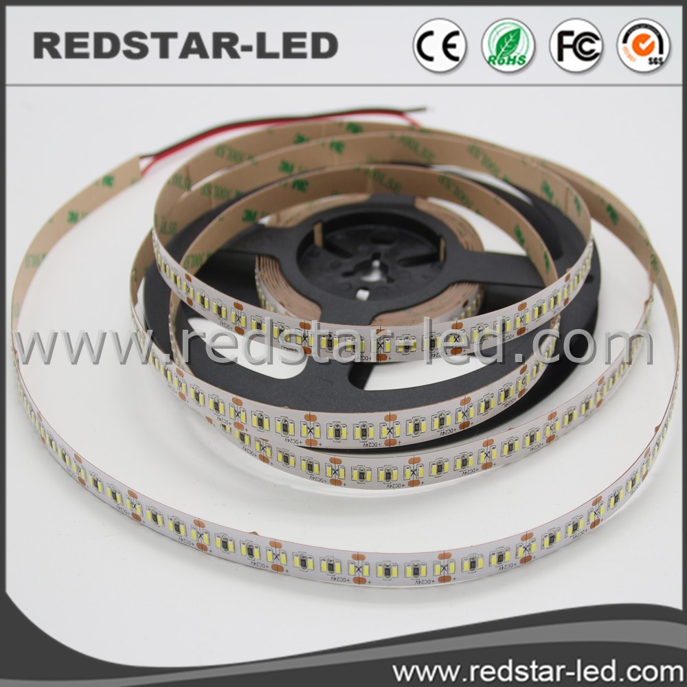 Dc 12v 100lm/w Edge-lit Panel Lighting 3014 Led Strip 4mm Width