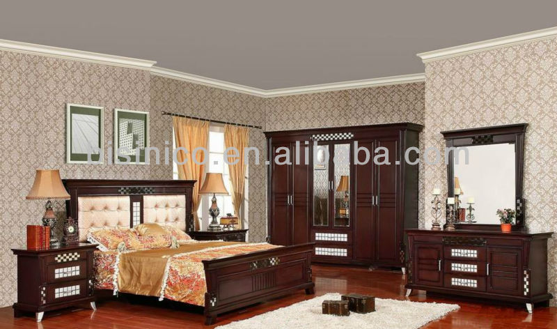 Antique Solid Wood Bedroom Furniture,Asian Style Wooden Beds  Furniture,Classical Design Bedroom Set Furniture - Buy Latest Bedroom  Furniture ...