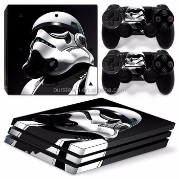New Custom Skin Sticker For Sony Ps4 Pro Playstation 4 Pro Console  Controller Skins - Buy Skin Sticker For Ps4 Pro,Sticker For Ps4,For Ps4 Pro  Product