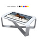 46 Inch Z Shape Waterproof LCD Interactive Touch Screen Tea Table