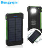 2017 BSCI Approved Factory Dual Usb Portable 10000mAh Waterproof Solar Power Bank Charger for mobile phone
