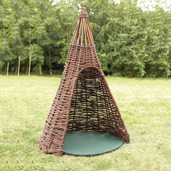 Twig Playhouses Willow Teepees for Indoors and Out for kids