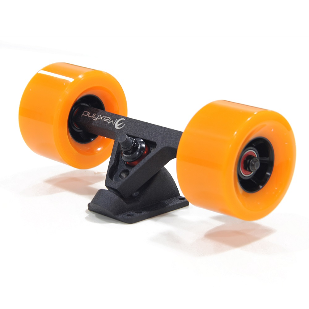 Maxfind DIY electric skateboard hub motor kit single motor + front truck +drive truck