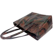 China Supplier Custom-Made Leather Brand Bags Fashion Camouflage handbags