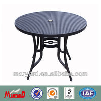 2013 Cast aluminum garden furniture set garden table MY13CA01T