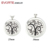 Hot Sale Tree Design Diffuser Locket 316L Stainless Steel Perfume Locket Pendant
