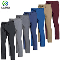 Custom men's New Style 2020 Quick Dry Golf Pants Wholesale Oem Golf Trousers Men