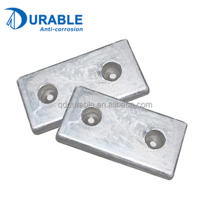 Cathodic protection ship hull anode sacrificial zinc anode for ships in marine and salt water