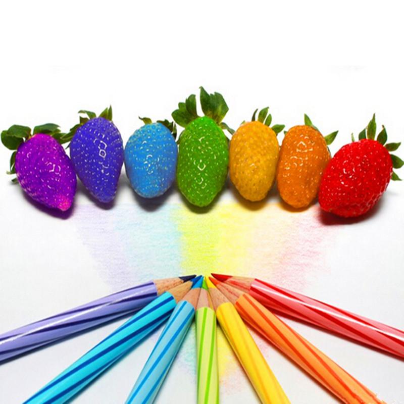 Aliexpress.com : Buy color rain bow strawberry seeds fruit ...