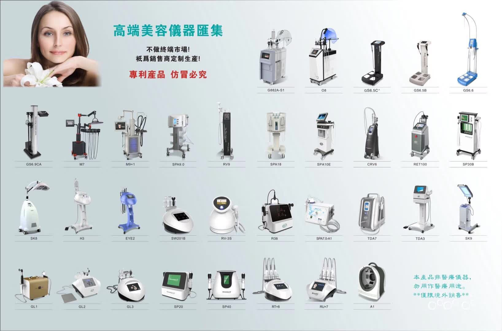 Produto de tendência mais vendido 2019 o9 gerador de oxigênio equipamento de beleza multifuncional para cuidados de beleza do rosto e do corpo