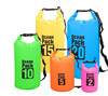 Outdoor camping PVC waterproof tube bag customized