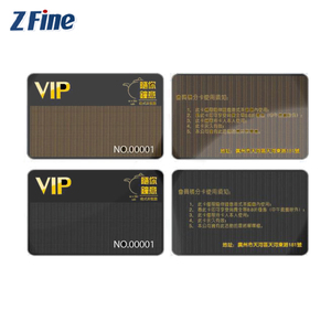 High Quality Plastic RFID Hotel Key Card em4200 Chip 125khz rfid id Card