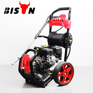 BISON BS170NB 6.5hp 170bar Commercial & Industrial Petrol Powered Portable Water Pressure Washer