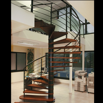 Prefabricated Stainless Steel Staircase Design Handicap