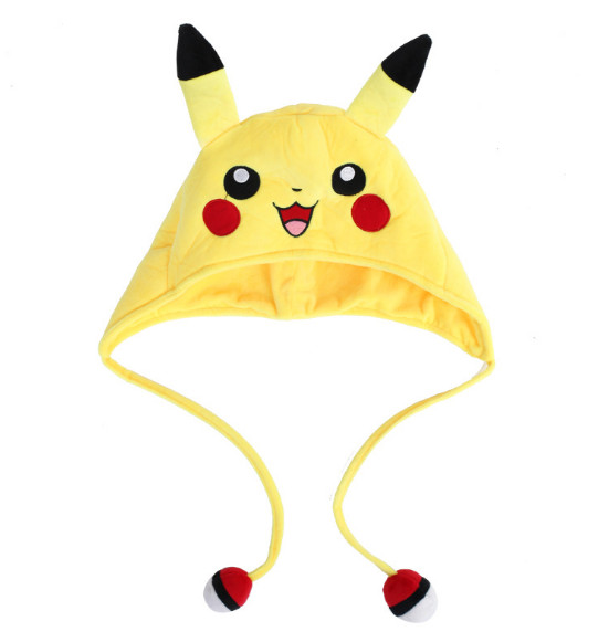 Novelty & Special Use Costumes & Accessories Japanese Anime Adult Kids Pokemon Pikachu Mimikyu Plush Hat Cosplay Custome Props Accessories Cartoon Warm Cap Headwear Hat