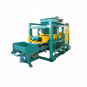 hydraform brick making machine construction equipment for sale QTJ4-25C hydraform concrete block making machine export to camb