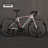 New Model Carbon Steel variable speed 26'' 700c Road Bike