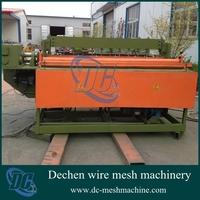 1-2mm Full Automatic Low Carbon Steel Wire Mesh Spot Welding Machine and Equipment(firm welding spot + uniform mesh )