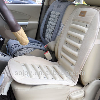Summer Cooling Car Seat Cushion With Ventilation Fan