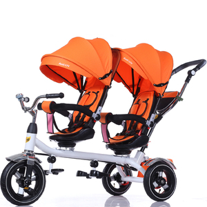 Cheap High Quality Twin Double Baby Stroller for two babys with umbrella
