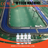 Turn key pet bottle water filling production line factory plant