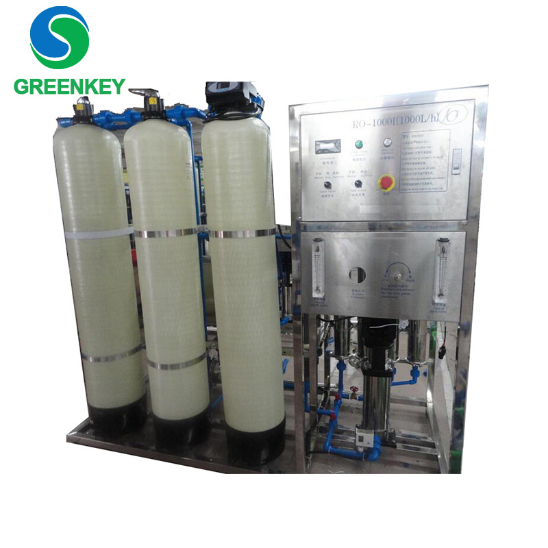 Full Automatic Pure and Mineral Water Production Plant /Commercial Drinking Water Machine