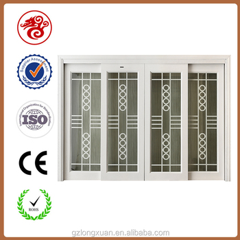 Fancy double solid wood doors exterior sliding door buy for Double sliding doors exterior