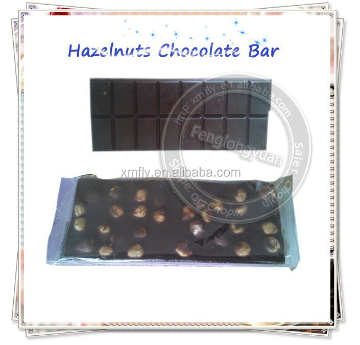 Custom Best Dark Chocolate Brands, Compound Dark Chocolate Bar With Nuts