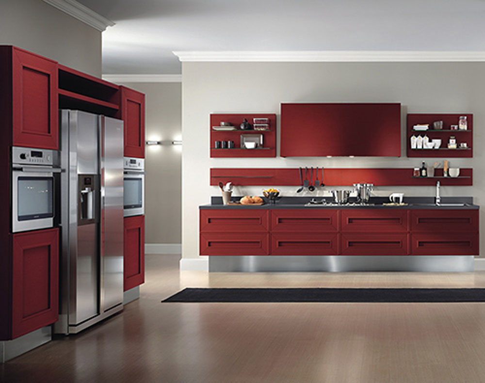 Kitchen Furnitur High Gloss Finish Kitchen Cabinet High Gloss Finish Kitchen