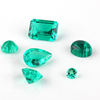 Precious Hydrothermal Synthetic Colombian Emerald Gemstones Price Per Carat Emerald Stone