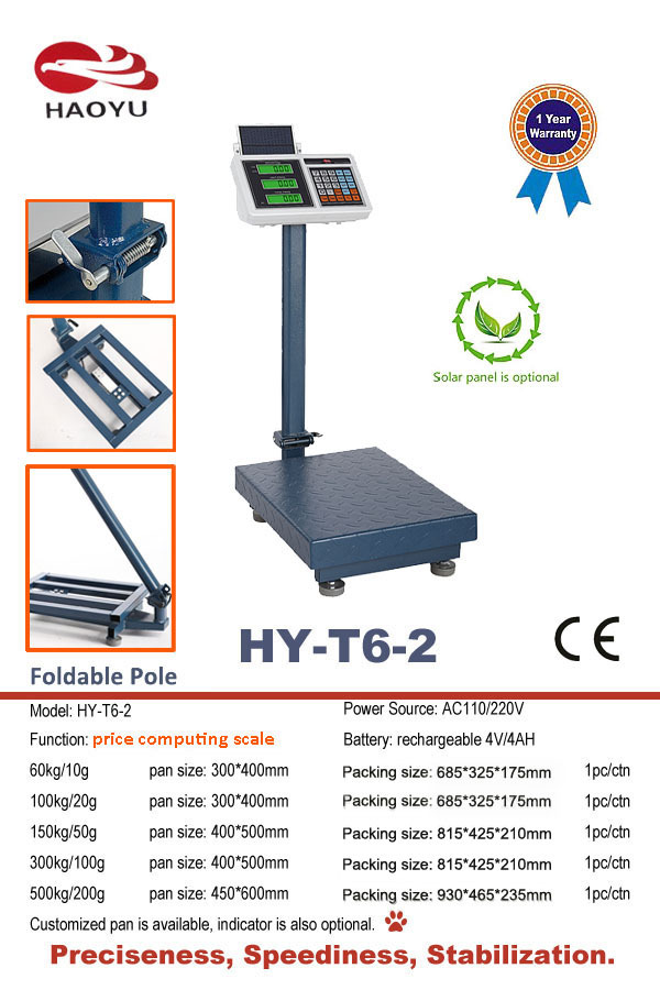Solar Panel Optional Tcs System Electronic Price Scale