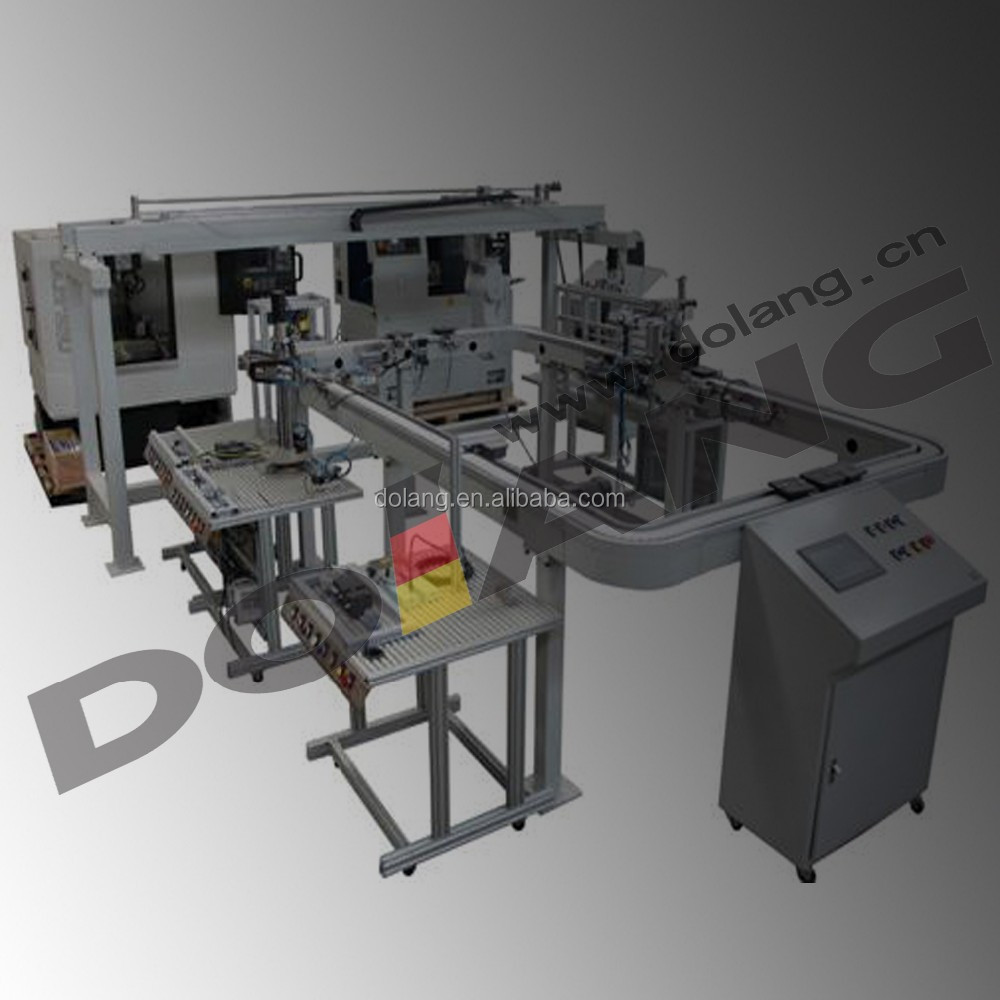 Didactic lab science Industrial FMS trainer DLRB-801 Robot Flexible  Manufacture System Training equipment, View Flexible Manufacture system  Trainer,