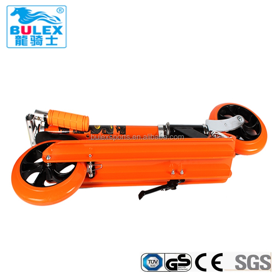 200mm big wheel push scooter for child