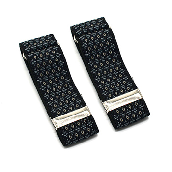 Shirt Sleeve Holders Arm Bands Garter Elasticated Metal Armband Men Ladies