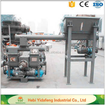Piston stamping Briquette EFB Straw biomass fuel Making Machine