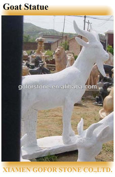Outdoor Decoration Goat Statue
