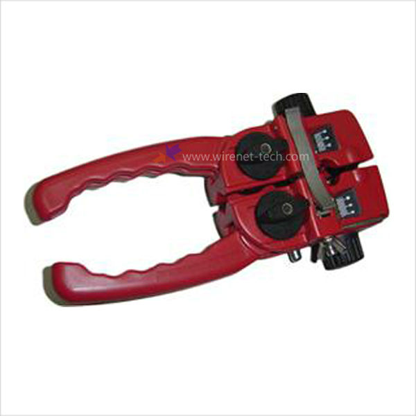 Fiber Optic Tools Longitudinal Sheath Cable Slitter Round Cable Stripper Cutter
