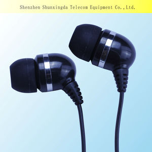 SXD colorful Stereo high quality earphone get free samples