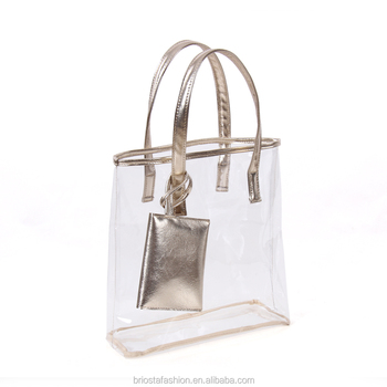 Whole Transpa See Through Clear Tote Bag