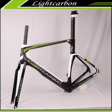 Sterke Licht carbon Frame 700C racefiets chinese fabriek <span class=keywords><strong>AERO</strong></span> frame <span class=keywords><strong>kit</strong></span> LCR009-V beste racing prestaties